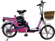 Xe đạp điện Hitasa i màu hồng