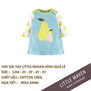 Little Maven-Váy quả lê xanh 5T