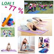 Thảm tập Yoga siêu bền loại dày 10mm TPE (HỒNG)