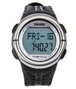 Đồng hồ nam đo nhịp tim SKMEI 1058 - Đen