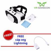 Kính 3D Vr Box Shinecon G05a + Cáp otg lightning cho iPhone