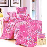 Bộ ga giường cotton Hồng nhí Tmark