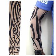 Ống Tay Áo Chống Nắng Hình Xăm Tattoo W30