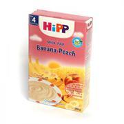 Bột dinh dưỡng HIPP vị sữa, chuối, đào (250g)
