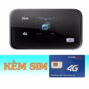 Thiết Bị Phát Wifi 3G/4G ZTE MF93D+Sim 4G Mobifone 7GB/tháng