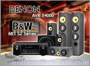 DENON AVR X4000 - B&W 683 S2 Series
