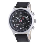 Đồng hồ nam dây da Timex T2P509 (Đen)
