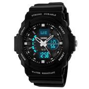 Đồng hồ thê thao nam chống nước Skmei AD0955 (Cam)