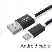 Dây sạc điện thoại Android Bastex (đen)