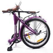 Xe đạp gấp thông dụng Fornix - BG802 (màu tím)