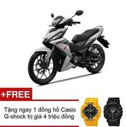 Xe máy Honda Winner 150 phiên bản thể thao (Trắng đen) + Tặng 01 đồng hồ Casio G-Shock trị giá 4 tri...