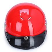 Mũ Bảo Hiểm 1/2 Đầu Protec Kitty KSWF In Họa Tiết (Size S)