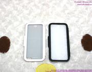 Bao da iphone 5 bật ngang trong sành điệu OP100