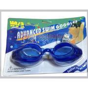 Kính bơi người lớn aquatic -có nút chặn tai-kẹp mũi (xanh)