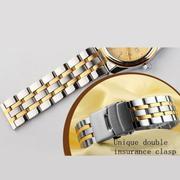 Đồng hồ nam dây pha thép không gỉ SKMEI SKM9779D (Mặt đen)