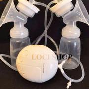 Máy hút sữa điện đôi Real Bubee A418 tặng kèm 10 túi trữ sữa Sunmum và củ sạc