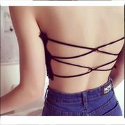 Áo Bra 2 dây gợi cảm ( đen)