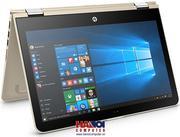 Laptop HP Pavilion X360 11-U047TU X3C25PA Xoay 360o/ Touch , màu Vàng