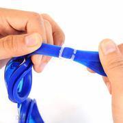 Kính bơi người lớn có nút chặn tai-kẹp mũi(TẶNG MÓC KHÓA DA)