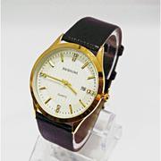 Bộ 2 sản phẩm đồng hồ dây da nam Baishuns + Tặng kèm pin dự phòng CB645