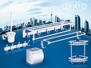 Bộ 6 phụ kiện nhà tắm cao cấp Zento OLO-134