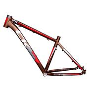 Sườn xe đạp leo núi Cycle Track CK-370 (đỏ vàng đồng) (size 17