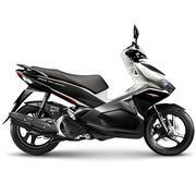 Xe tay ga Honda Airblade 125cc (Trắng đen)