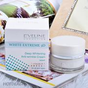 Kem Dưỡng Da Chống Nhăn Ban Đêm White Extreme 3D Eveline Chính Hãng