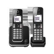 Điện thoại bàn kéo dài Panasonic KX-TGD312 (Đen)