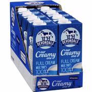 Sữa Tươi Devondale Nguyên Kem 2 Lít (6 Hộp/Thùng)