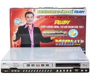 Đầu Karaoke 5 số Ruby MIDI 2082 (tặng đĩa sách Vol 54)