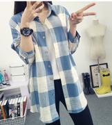 áo sơ mi flannel caro