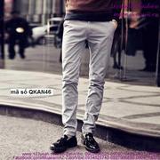 Quần kaki nam phong cách Hàn Quốc sành điệu QKAN46