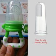 Túi nhai ăn dặm chống hóc GB Baby (Korea) cho bé yêu (tặng 01 rơ lưỡi silicon Cao cấp)
