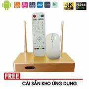 Android TV Smart Box HP Q9 - Thiết bị TV Box giải trí không giới hạn (Vàng neon)(Vàng nhạt)