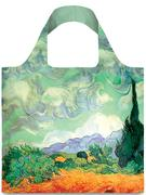 Túi xách Loqj Gogh A Wheat Field with Cypresses Tote Bag (M) Đa Màu