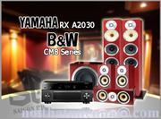 YAMAHA RX A2030 - B&W CM8 Series