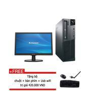 Máy tính để bàn Lenovo Think Center M91P Core i5 2500 RAM 8GB 256GB SSD màn hình 20 inch - Hàng nhập...