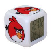 Đồng hồ báo thức 7 màu Angry Bird