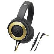Tai nghe Over ear Audio-technica ATH-WS550iS (Đen phối vàng)