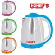 [HONEYDEAL] [Nhiều lựa chọn] Bình đun siêu tốc Inox Honey's 1.8L HO-EK15S186