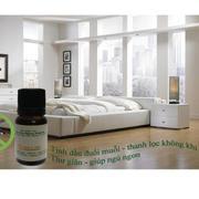 Bộ tinh dầu sả java đuổi muỗi (10ml) và đèn xông tinh dầu điện size L AH81 + Tặng 1 chai tinh dầu lo...