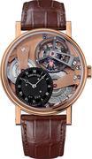 BREGUET Tradition 7047BR/R9/9ZU Skeleton Watch 41mm