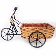 Kệ hoa quả hình người đạp xe ba gác 39x23cm FtraMart