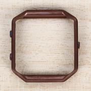 Polished Stainless Steel Metal Frame Holder Shell for Fitbit Blaze - Intl