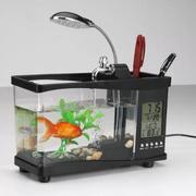 Bể cá thuỷ sinh để bàn mini (Đen)