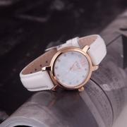 Đồng hồ nữ JULIUS Hàn Quốc dây da JU1178 (Trắng)