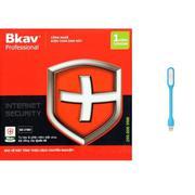 Phần mềm diệt virut Bkav Pro Internet Security tặng kèm đèn led usb chiếu sáng