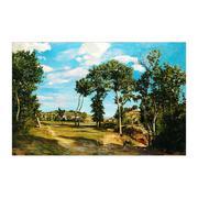 Tranh in canvas sơn dầu Thế Giới Tranh Đẹp Scenery 396 40 x 60 (Nhiều màu)