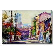 Tranh in canvas sơn dầu Thế Giới Tranh Đẹp Scenery 030
